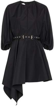 Marques Almeida Marques'Almeida puff-sleeve belted mini-dress