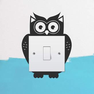 Oakdene Designs Owl Light Switch Wall Sticker