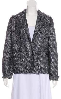 Lanvin Metallic Tweed Blazer
