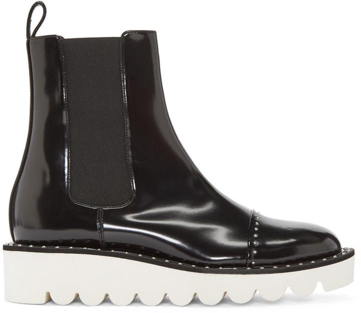 Stella McCartney Black Odette Chelsea Boots