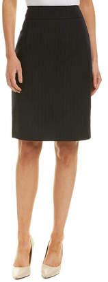 Carolina Herrera Wool Pencil Skirt