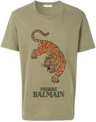 Pierre Balmain Tiger logo T-shirt