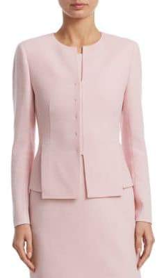 Akris Ocello Wool Crepe Jacket