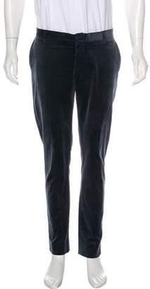 Etro Velvet Flat Front Pants