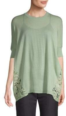 Valentino Back Lace Top