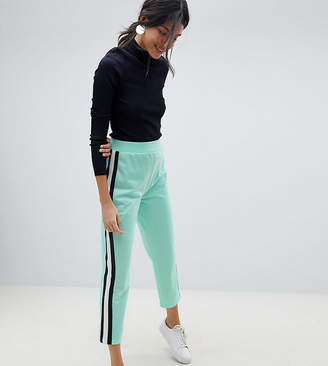 Asos Tall TALL Cropped Track Pant Pants with Side Tape