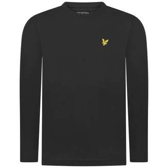Lyle & Scott Lyle & ScottBoys True Black Long Sleeves Top