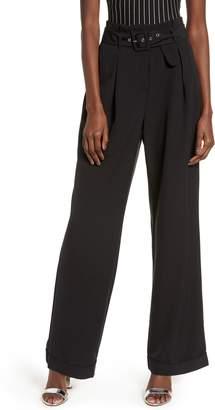 Vero Moda Savanah Belted High Waist Pants