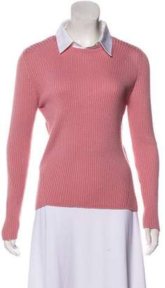 Altuzarra Rib Knit Wool Sweater