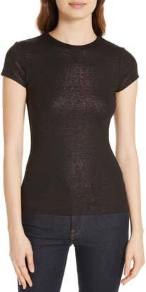 Ted Baker Amander Shimmer Fitted Tee