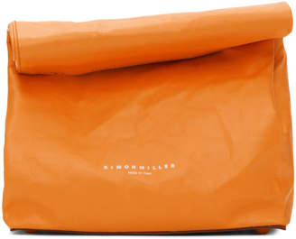 Simon Miller Orange Small Lunch Bag 20 Clutch