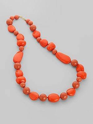 Kenneth Jay Lane Chunky Beaded Necklace