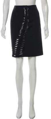 Dion Lee Accented Knee-Length Skirt