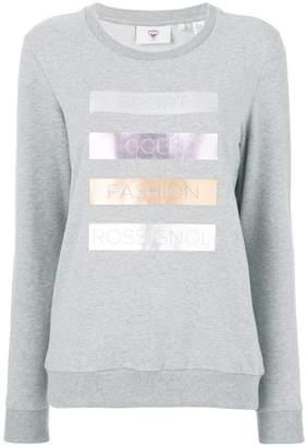 Rossignol laminated print sweatshirt