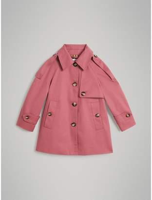 Burberry Showerproof Cotton Reconstructed Trench Coat