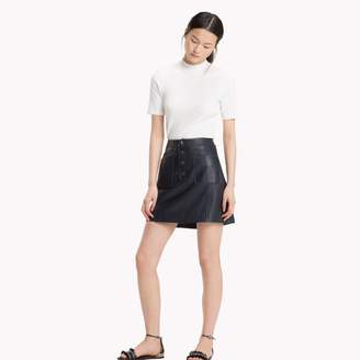 Tommy Hilfiger Vintage Leather Skirt