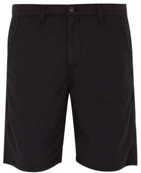 Rag & Bone Slim Fit Cotton Chino Shorts - Mens - Black