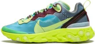Nike React Element 87/Undercover 'Lakeside' - Lakeside/Electric Yellow