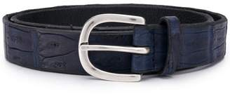 Orciani crocodile effect belt