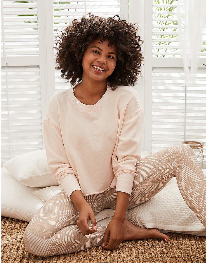 Aerie Lace-Up Side Sweatshirt