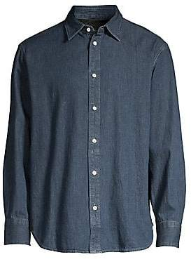 Rag & Bone Rag& Bone Rag& Bone Men's Fit 3 Denim Button-Down Shirt