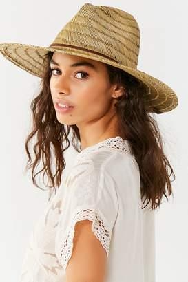 Brixton Bells Straw Lifeguard Hat