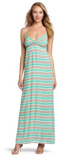 Splendid Women's Multi Stripe Maxi Dress