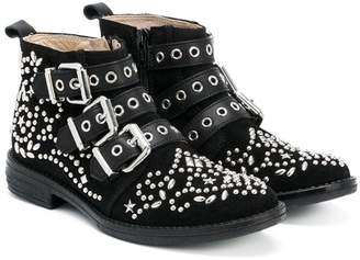 Ermanno Scervino studded ankle boots