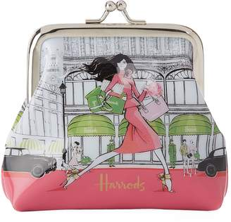 Harrods Megan Hess Luxury Lifestyle Coin Purse