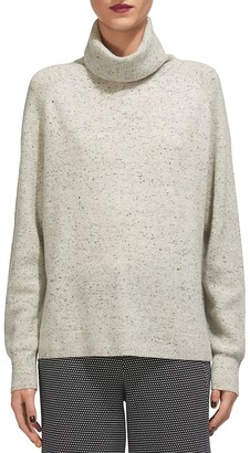 Whistles Donegal Cashmere Turtleneck Sweater $340 thestylecure.com