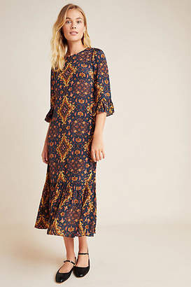 Kachel Tiburon Ruffled Maxi Dress
