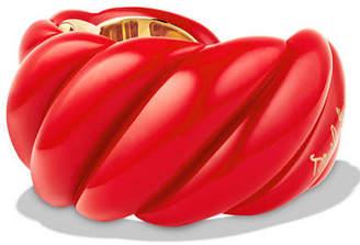 David Yurman 40mm Resin Cable Cuff Bracelet