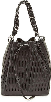 Sonia Rykiel Le Baltard Leather Bucket Bag