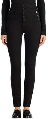 Women's J Brand Natasha Sky High High Waist Skinny Jeans $248 thestylecure.com