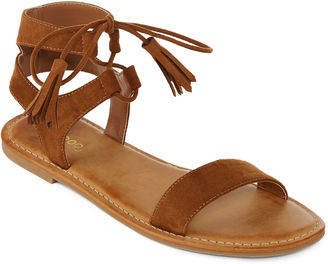 Bamboo Bayside Tassel Flat Sandals $19.99 thestylecure.com