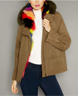 The Fur Vault Hooded Fox-Fur-Lined Parka