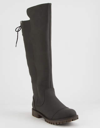 Roxy Bonny Black Womens Over Knee Boots