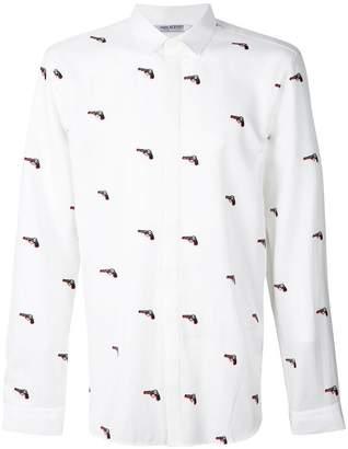 Neil Barrett Pistol print shirt