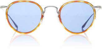Barton Perreira Aalto Havana Round Sunglasses