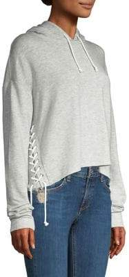 Generation Love Tessa Lace-Up Hoodie