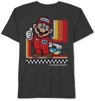 Nintendo Little Boys Super Mario Graphic-Print T-Shirt
