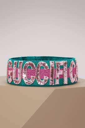 Gucci Sequin Guccification headband