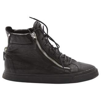 Giuseppe Zanotti Leather high trainers