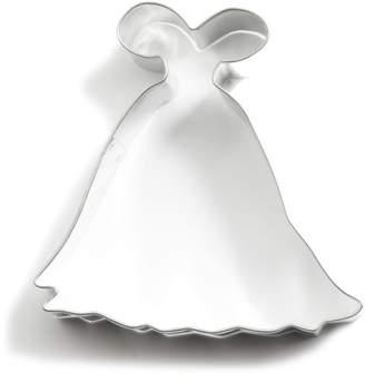 "Ann Clark Wedding Gown Cookie Cutter, 4"""