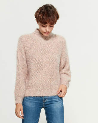 Joie Pink Sky Long Sleeve Dolman Sweater