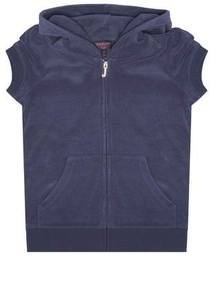 Juicy Couture 100% Juicy Microterry Short Sleeve Robertson Jacket For Girls