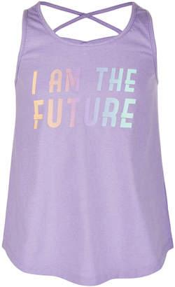 Ideology Big Girls Future-Print Tank Top