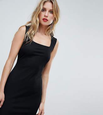 boohoo Sleeveless Square Neck Mini Dress
