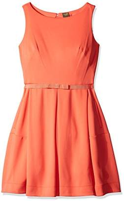 Gabby Skye Women's Social Sequin Surplus Front Dress