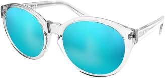 AQS by Aquaswiss Women's Daisy Translucent Round Acetate Frame